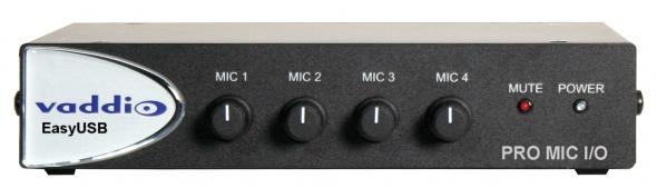 Четырех канальный микшер Pro Mic со встроенным AEC / 999-8520-001