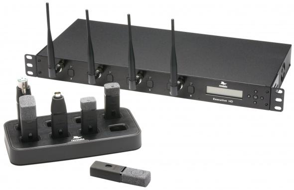 8-миканальная система Executive HD MaxSecure (без микрофонов