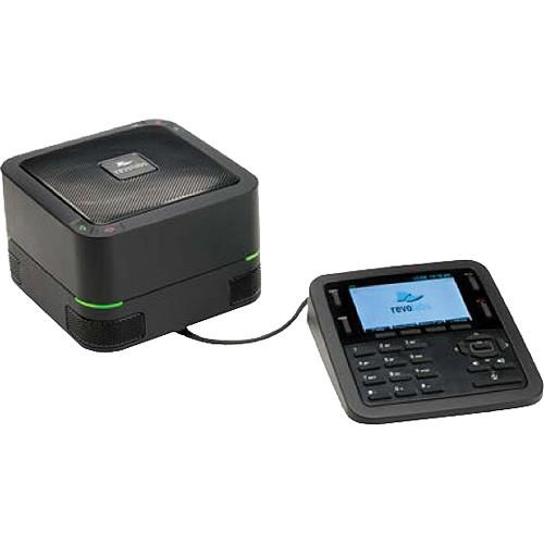 IP-конференц-телефон FLX UC 1000 с поддержкой USB (питание по PoE 802.3af; в комплекте: конференц-телефон