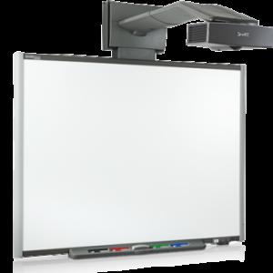 Интерактивная доска 77 со встроенным проектором UF65