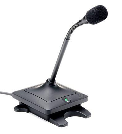 """Микрофон проводной настольный Elte типа """"гусиная шея"""" (6 дюймов"""