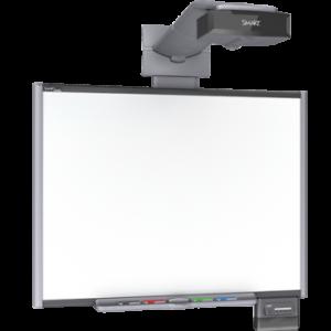 Интерактивная доска 87 со встроенным проектором UNIFI 55W