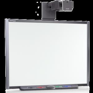 Интерактивная доска 77 со встроенным проектором UF75