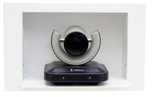 Встраиваемая в стену полка для камер LifeSize HD