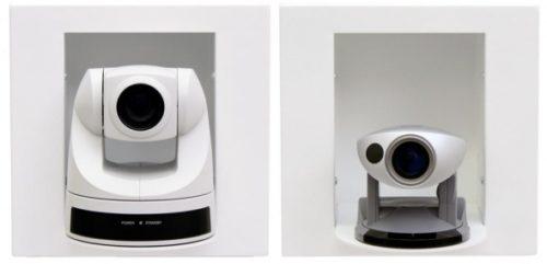 Встраиваемая в стену полка для камер Sony EVI-D70 и Canon VC-C50i IN-Wall Enclosure 50/70 / 999-2225-012