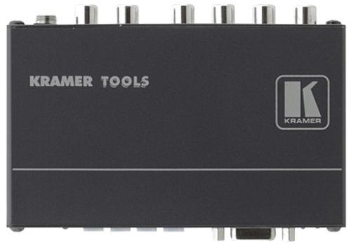 Коммутатор и усилитель-распределитель 4x1:2 сигнала S/PDIF Kramer 6502
