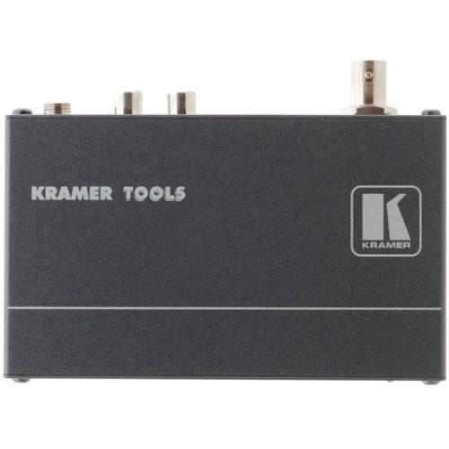 Передатчик композитного видеосигнала и стереоаудио по витой паре Kramer 717