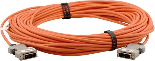 Оптоволоконный кабель DVI Single Link с поддержкой HDCP Kramer C-AFDM/AFDM