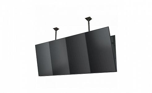 """Модуль для потолочного крепления для мультидисплейной системы в портретной ориентации для двух дисплеев 60""""- 65""""+"""