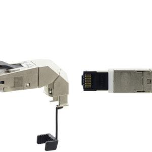 Экранированный разъем RJ45 с возможностью вращения на 360° Kramer CON-FIELD-360
