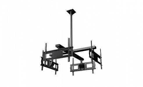 """Потолочный комплект для инсталляции четырех дисплеев с диагональю 37""""-63""""+"""