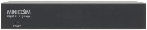 8-канальный передатчик сигналов VGA и стереозвука распределенной системы аудио- и видеовещания DS Vision® 3000 (Digital Signage) с поддержкой двунаправленного RS-232 Kramer DSV3K-B8