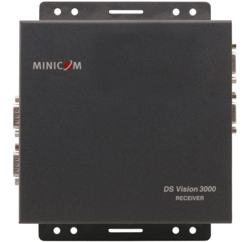 Двухинтерфейсный приемник сигналов распределенной системы аудио- и видеовещания DS Vision® 3000 (Digital Signage) малой дальности Kramer DSV3K-RS