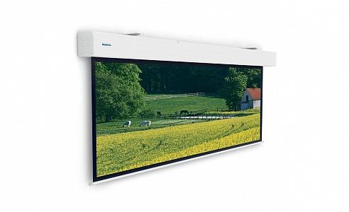 Проекционный экран для крупных мероприятий. Ширина полотна может быть от 3