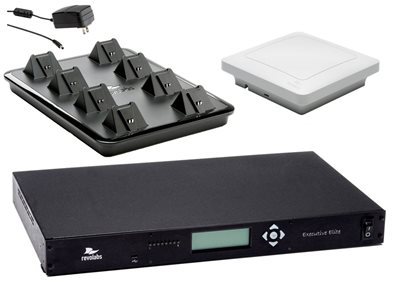 8-миканальная система Executive Elite без микрофонов (в комплекте: базовая станция