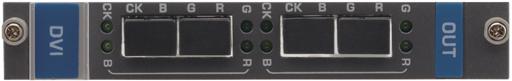 Входная плата на 2 входа 4LC для передачи DVI для коммутатора Kramer VS-1616D Kramer F610-IN2-F16/STANDALONE