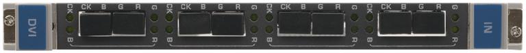 Входная плата с 4 оптическими входами 4LC для приема сигнала DVI для коммутатора Kramer VS-3232DN Kramer F610-IN4-F32/STANDALONE