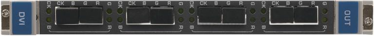 Выходная плата с 4 оптическими выходами 4LC для передачи DVI для коммутатора Kramer VS-3232DN Kramer F610-OUT4-F32/STANDALONE