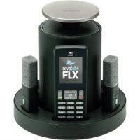 Беспроводной VoIP конференц-телефон FLX™ (1 петличный и 1 настольный всенаправленный микрофоны)
