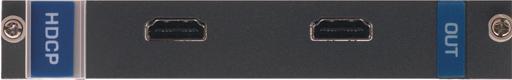 Выходная плата с 2 портами HDMI для коммутатора Kramer VS-1616D Kramer H-OUT2-F16/STANDALONE
