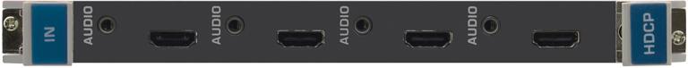 Плата c 4 входами HDMI и входами аналогового стерео аудио на 3