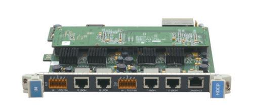 Модуль c 4 входами HDBaseT (витая пара) для коммутатора Kramer VS-3232DN Kramer HDBT-IN4-F32/STANDALONE