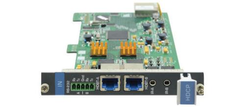 Плата c 2 входами HDBaseT (витая пара) для коммутатора Kramer VS-1616D Kramer HDBT7-IN2-F16/STANDALONE