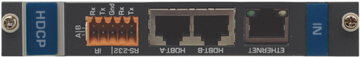Плата на 2 входа HDBaseT (витая пара) для коммутатора VS-1616D Kramer HDBT-IN2-F16/STANDALONE