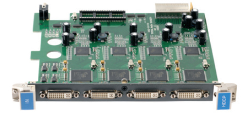Плата c 4 входами DVI-D Single Link с HDCP для коммутатора Kramer VS-3232DN Kramer HDCP-IN4-F32/STANDALONE