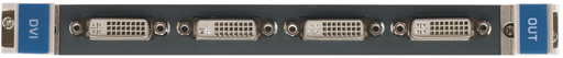 Выходная плата с 4 портами DVI-D Single Link для коммутатора Kramer VS-3232DN Kramer HDCP-OUT4-F32/STANDALONE