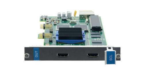 Выходная плата с 2 масштабируемыми портами интерфейса HDMI для коммутатора Kramer VS-1616D Kramer HS-OUT2-F16/STANDALONE