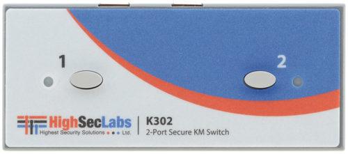KM-коммутатор 2x1 сигналов USB и аудио Kramer K302