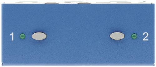 KVM-коммутатор 2х1 сигналов DisplayPort Kramer K502