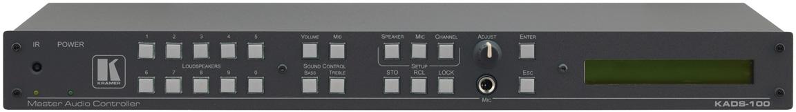 Аудиоконтроллер системы KADS Kramer KADS-100