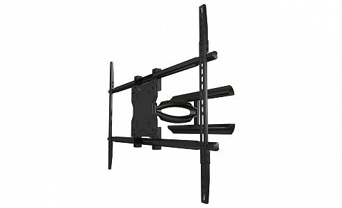 """Наклонно-поворотное настенное крепление для LCD телевизоров и панелей 46""""-65""""+"""