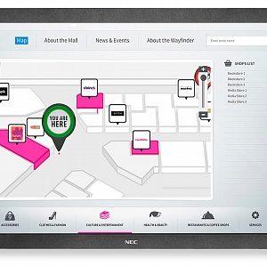 Интерактивная панель NEC MultiSync P801 SST