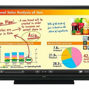 Интерактивная панель Sharp PN70TB3