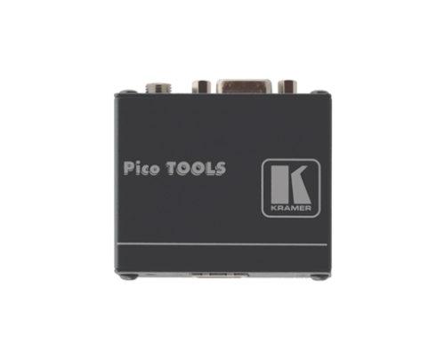 Передатчик VGA сигнала в витую пару (TP) с эмулятором источника данных EDID до 250 м Kramer PT-110XL