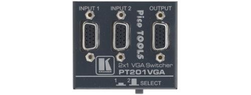 Высококачественный механический коммутатор 2х1 сигналов VGA Kramer PT-201VGA