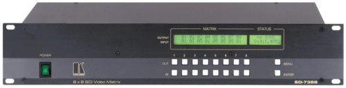 Цифровой матричный коммутатор 8:8 сигналов SDI Kramer SD-7388
