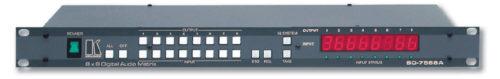Многостандартный матричный коммутатор 8:8 цифровых аудио сигналов Kramer SD-7588A