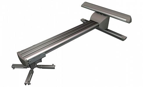 Универсальное настенное крепление из анодированного алюминимя для короткофокусных проекторов весом до 23 кг