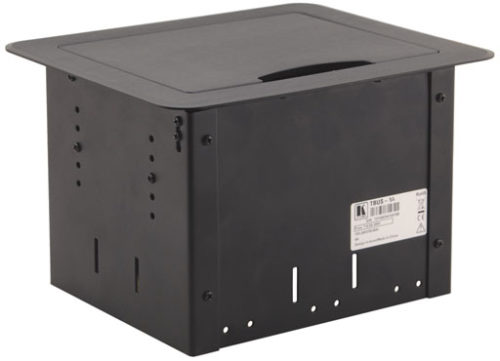 Встраиваемый модуль кабельных подключения с откидной крышкой Kramer TBUS-1Axl