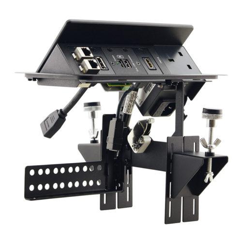 Модуль для подключения кабелей TBUS-203 с гнездами под модуль-вставки Kramer TBUS-203XL