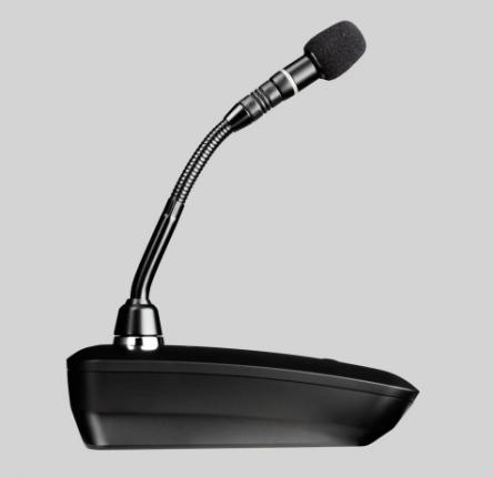 Беспроводной передатчик для микрофонов на гибкой шее