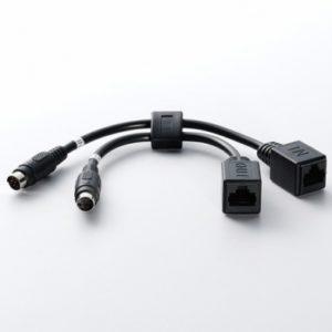 Расширитель кабеля для увеличения расстояния между компьютером/пультом управления и камерой до 100 метров. Подключение до 7ми камер по цепочке.