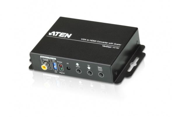 Конвертер-масштабатор VGA в HDMI с Аудио