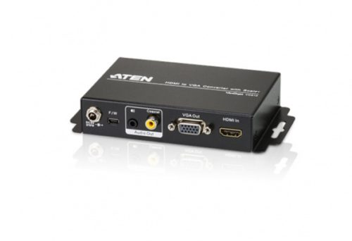 Конвертер-масштабатор HDMI в VGA с Аудио