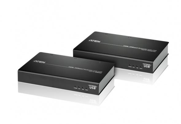Удлинитель HDMI и USB HDBaseT (4K@100м)