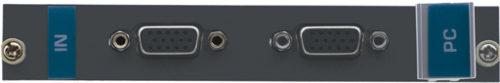 Плата c 2 входами VGA для коммутатора Kramer VS-1616D Kramer VGA-IN2-F16/STANDALONE